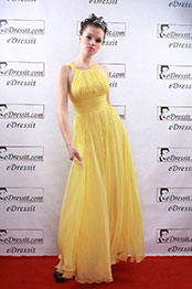 eDresssit Yellow Lively Prom/Ball/Gown/Evening dress (00081403)
