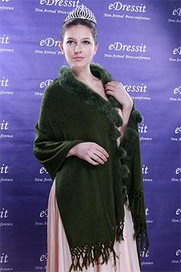 eDressit Deep Green Shawl/Wrapa/Bolero (14090104)