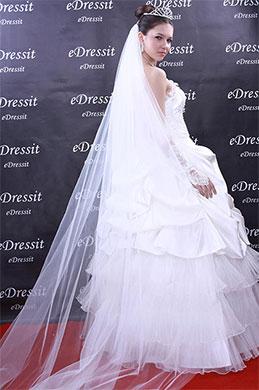 eDressit оригинальная фата для невесты(19090207)