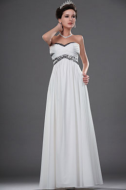 eDressit New Strapless Sequins Evening Dress Wedding Gown (01111607)