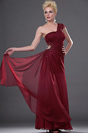 eDressit Stylish One Shoulder Beaded Evening Dress (00111817)