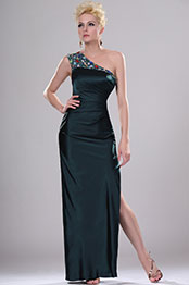 eDressit New Beaded One Shoulder Evening Dress (00113604)