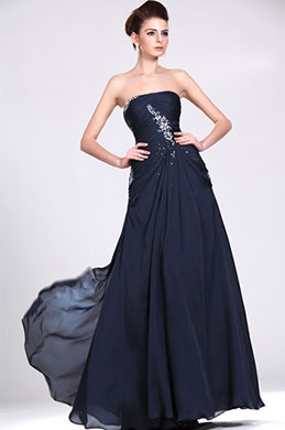 eDressit New Strapless Beaded Evening Dress (00117505)