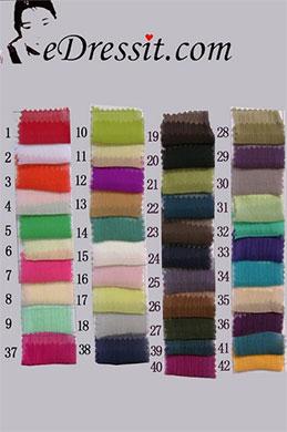 eDressit Pleated Silk Chiffon Color Chart (31660101A)