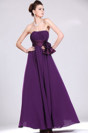 eDressit  New Alluring Strapless Purple Evening Dress (00119806)