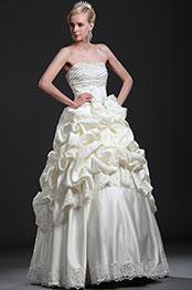 eDressit New Beaded Ruffled Wedding Gown (01112613)