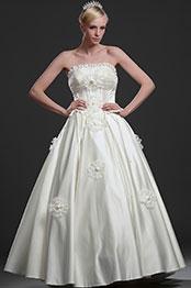 eDressit New Elegant Strapless Wedding Gown (01112913)