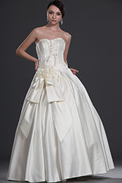 eDressit Elegant Strapless Wedding Gown (01113013)