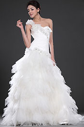 eDressit  New Alluring One Shoulder Wedding Gown (02110407)