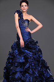eDressit  New Amazing One Shoulder Pleated Prom Gown (02110605)