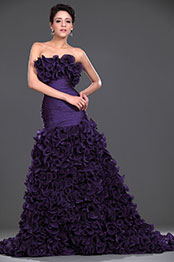 eDressit Luxury Strapless Prom Gown (02110806)