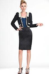 eDressit New Fashion Slim Fit Lady Short Coat Jacket (03111800)