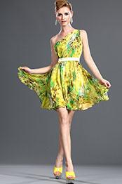 eDressit Elegant 100% silk One Shoulder Party Dress (04101068)