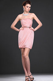 eDressit New Pink Adoral Strapless Party Dress (04114901)