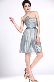 eDressit New Strapless Grey Bridesmaid Dress (07110908)