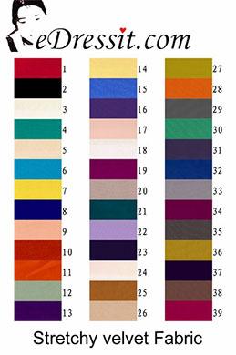 eDressit Stretchy Velvet Fabric (60110105)