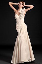 eDressit Fabulous One Shoulder Fully Ruched Bodice Evening Dress (00122014)