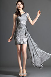 eDressit Stylish One Shoulder Short Dress Party Dress (04120708)