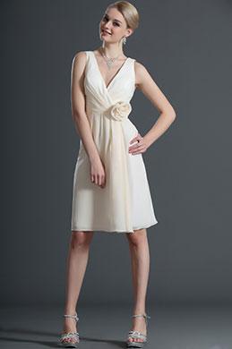 eDressit Novedad Escote en V Vestido de Dama de Honor (07120714)