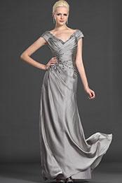 eDressit Elegant Off Shoulder Gray Evening Dress (26121508)