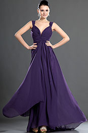 eDressit Sexy Gorgeous V-cut Purple Evening Dress (36120106)