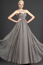 eDressit Sweet-Heart  Strapless Gray Evening Dress Prom Gown (W00124608)