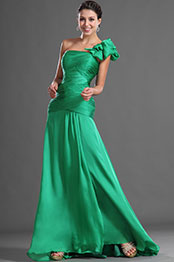 eDressit Amazing Stylish Single Shoulder Green Evening Dress (00127904)
