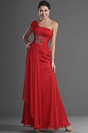 eDressit Stylish Red Single Shoulder Evening Dress (00129402)