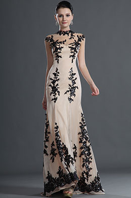 eDressit Gorgeous Black Lace Mermaid Evening Gown (02120714)