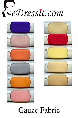 eDressit Gauze Fabric (60120201)
