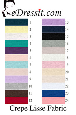 eDressit тонкие креп ткани (60120401)
