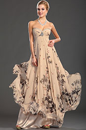 eDressit New Stunning Strapless Sweetheart Neckline Printed Fabric Evening Dress (00122568)