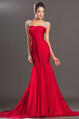 eDressit  Charming Fitted Red Prom Evening Dress