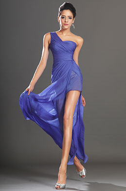 eDressit New Gorgeous Blue One shoulder Evening Dress (00131205)