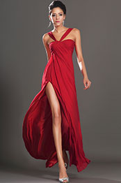 eDressit New Gorgeous High Split Red Evening Dress (00131402)