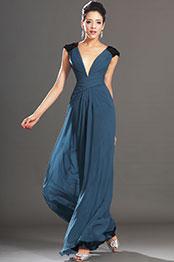 eDressit New Sexy Deep V-neckline Sequins Evening Dress (00132805)