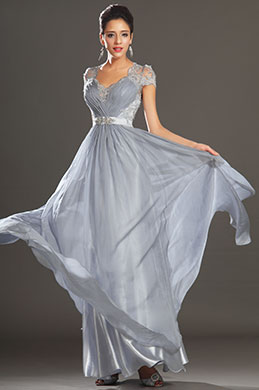 eDressit New Adorable Cap Sleeves Lace Evening Dress (02130632)