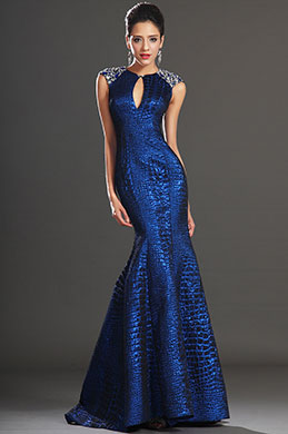 eDressit Sleeveless Sapphire Blue Evening Gown Dress (02130905)