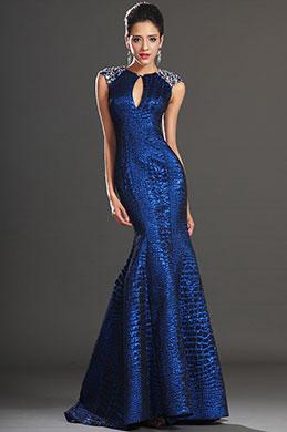 eDressit Bezaubend Ärmellos Sapphir Blau Abendkleid (02130905)