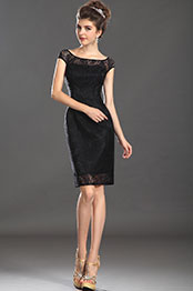 eDressit New Charming Lace Little Black Lady Dress (03130200)