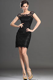 eDressit New Fabulous Lace Little Black Cocktail Dress (03130400)