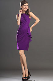 eDressit New Purple Elegant Sleeveless Cocktail Dress Party Dress (03130512)
