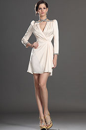 eDressit New Elegant Long Sleeves Cocktail Dress Day Dress (03130914)