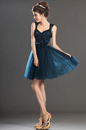 eDressit New Arrival V Cut Lace Cocktail Dress Party Dress (04130405)