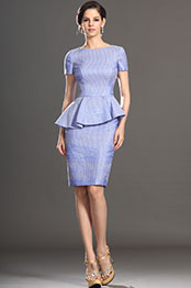 eDressit Stylish Short Sleeves Mother of the Bride Dress (26130238)