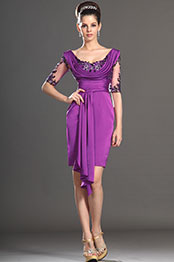 eDressit Stylish Short Sleeves Mother of the Bride Dress (26130912)