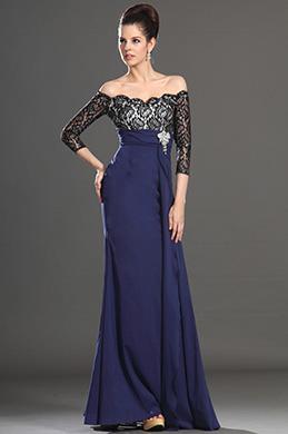 eDressit 2013 Neu Artikel Wunderbal Blau Kleid für Braut´s Mutter (26133505)