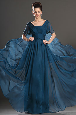 eDressit New High Quality Blue Short sleeves Mother of the Bride Dresses (26133605)