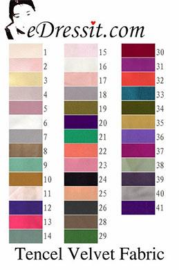 eDressit Tencel velvet Fabric (60130101)
