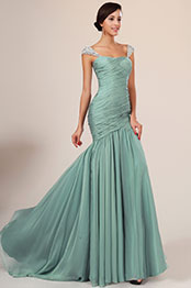 eDressit New Charming Fitted Green Evening Dress (00131004)